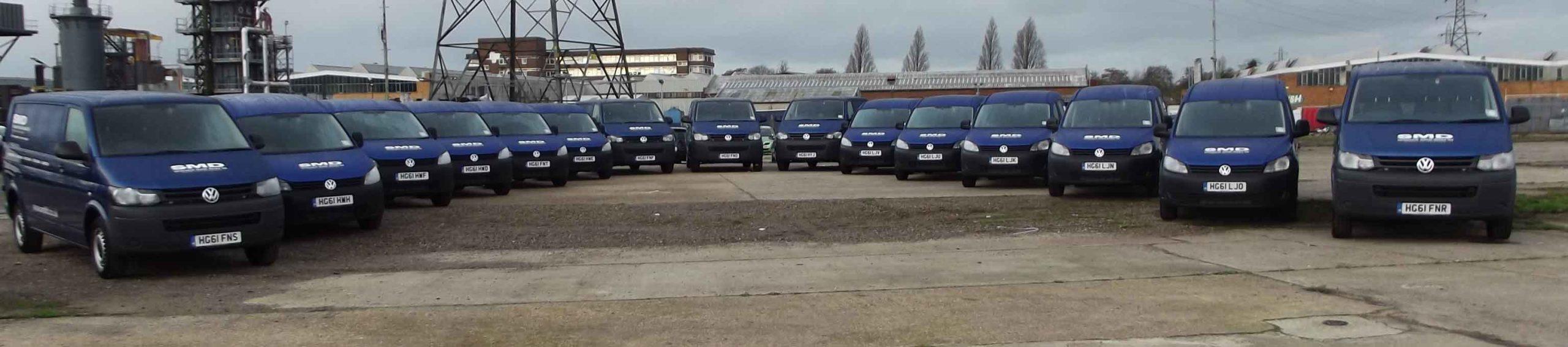 SMD van fleet