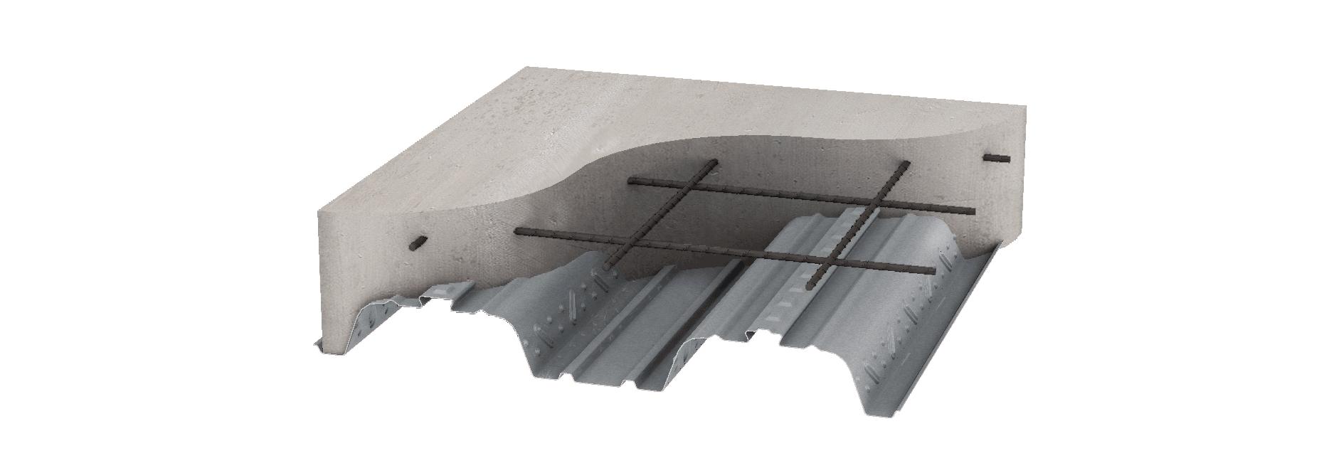 Metal floor deck