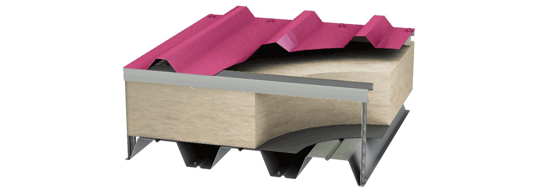 Metal roof deck