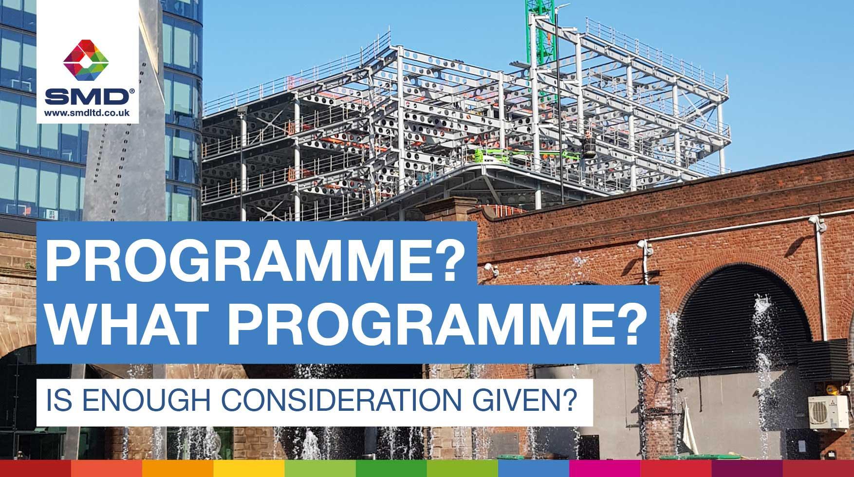 Programme, what programme